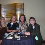 With my sister, Lynn, and friends at the San Diego Book Awards