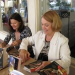 Signing at Book Works (Del Mar)  event with author Lisa Fugard