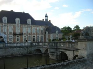 The Chateau d'Etoges, setting for the epilogue of THE LAWS OF MOTION.
