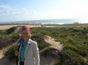 On the beach near SIntra Portugal