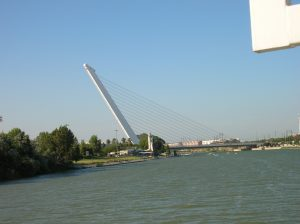 Bridge over the Gualadquivir River in Sevilla