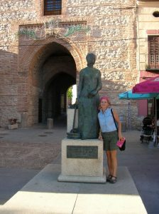 Researching Isabella of Castile in Arevalo, Spain