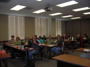 My great class at SDSU's Osher Institute